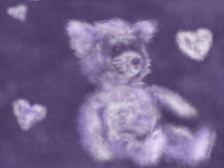 Sweet Dreams Teddy Bear - Jules Durr