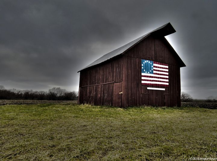 HDR Barn - Jessica Royer