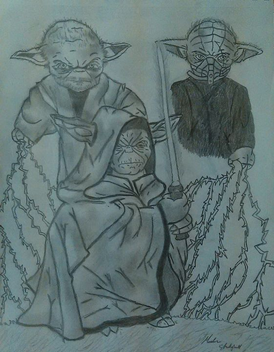 Darth Yodas - J$killz Artwork