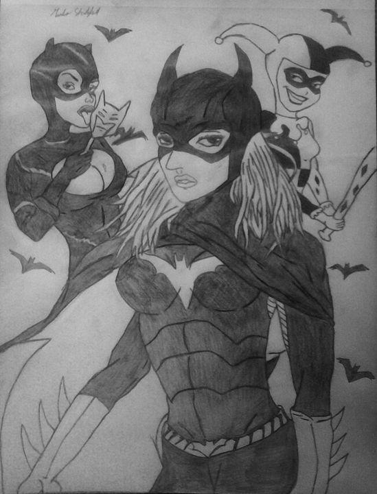 Gotham girls - J$killz Artwork