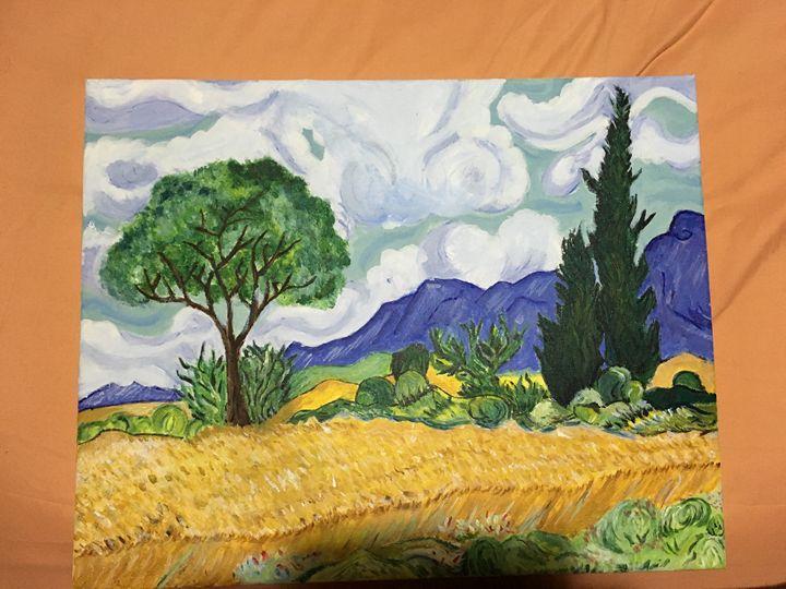Replica of Van Gogh's Wheat Field - Mus