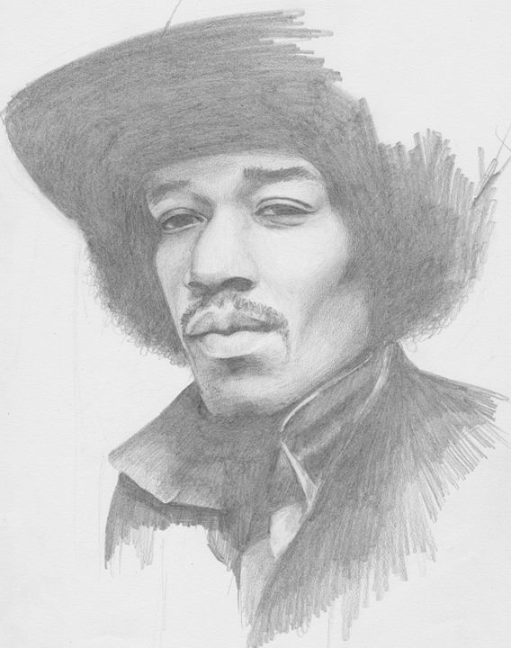 Jimmy Hendrix - Portraits by Veronika