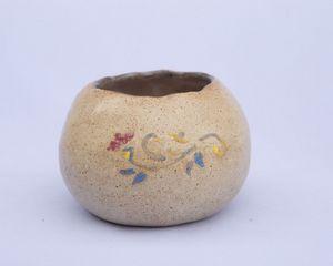 Handmade stoneware pot - Crooked River Art Co
