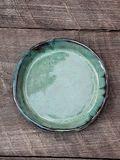 Handmade stoneware dish