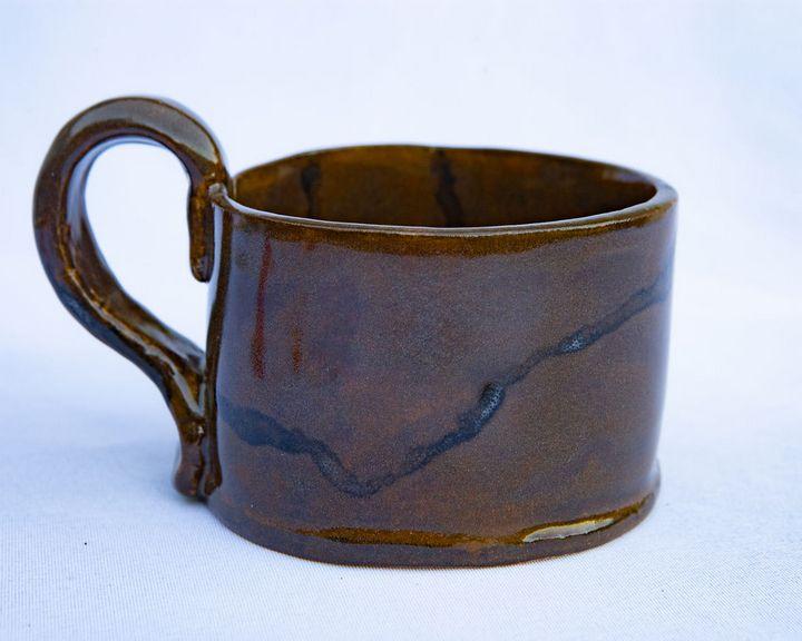 Handmade stoneware mug - Crooked River Art Co