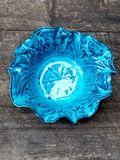 Handmade ruffle bowl