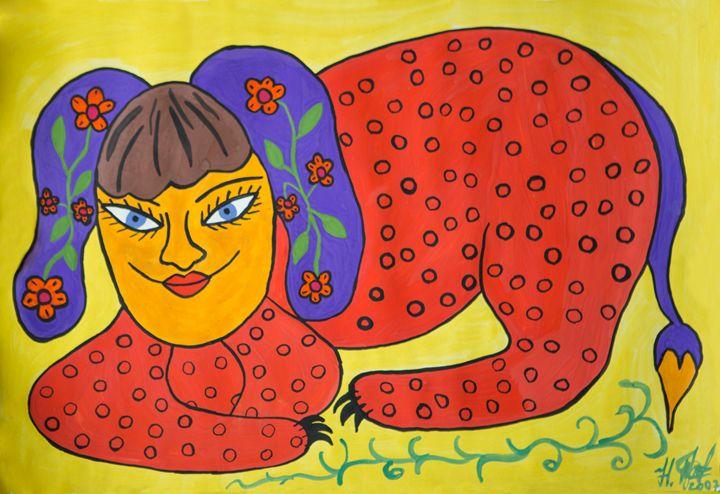 Happy-Animal - Works of Nadya Prymachenko