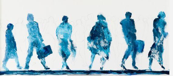 en route - Bernadette Bijl