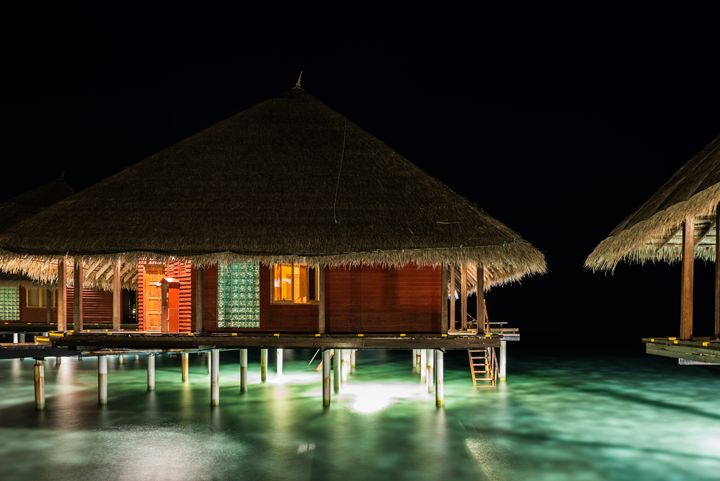good night in paradise - hannes cmarits photography