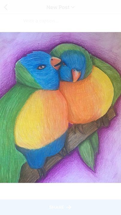 Love birds - Maya Pera