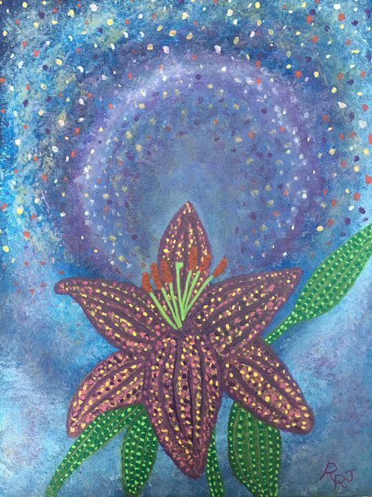 Cosmic Flower - rrjavedart