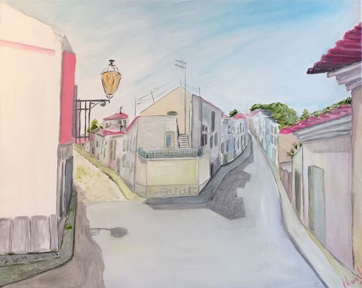 Lagos, Portugal painting, original - Art Gallery by S.Shavrina