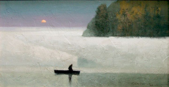 August Mist II - Vytautas Laisonas / Paintings