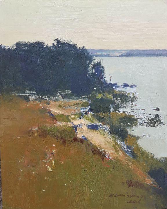 Lake Shore - Vytautas Laisonas / Paintings