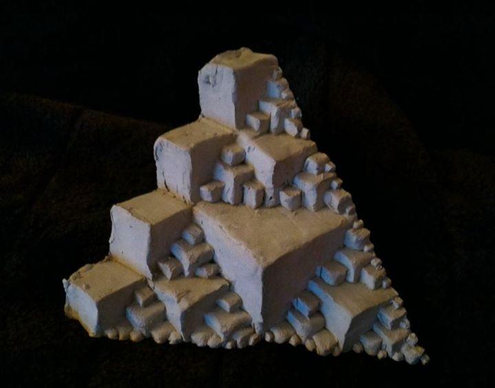 Ants Fractal Pyramid #1 - GEEK MAN