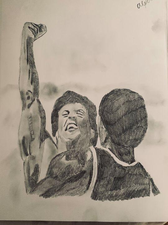 Rocky 3 - Alexa Bruzio Art
