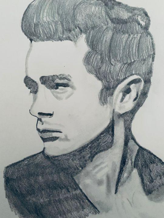 James Dean - Alexa Bruzio Art