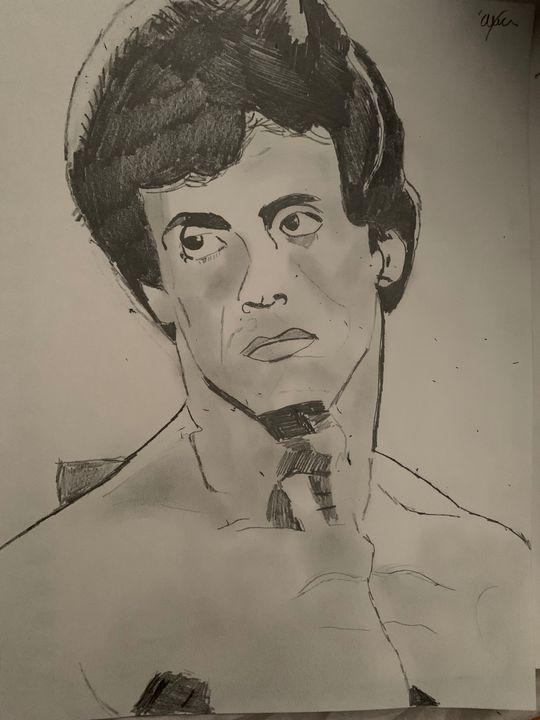 Rocky 3 (Sylvester Stallone) - Alexa Bruzio Art