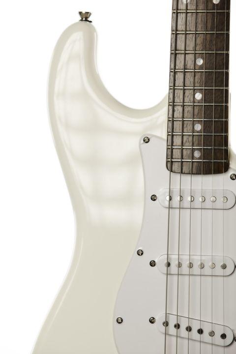 White Electric Guitar 5543..02 - M K Miller III