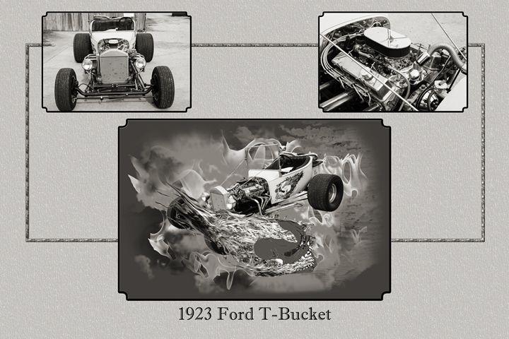 1923 Ford T-Bucket Vintage Classic C - M K Miller III