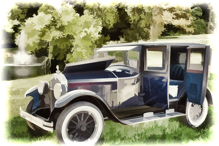 1924 Buick Duchess Antique Vintage P - M K Miller III