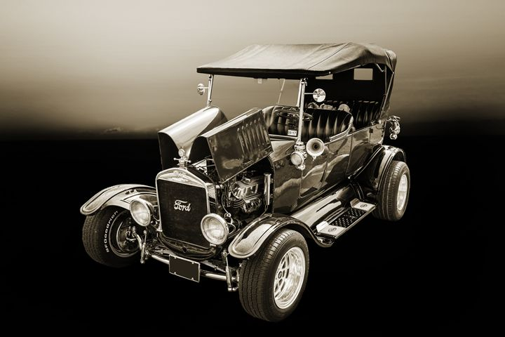 1924 Ford Model T Touring Hot Rod 55 - M K Miller III