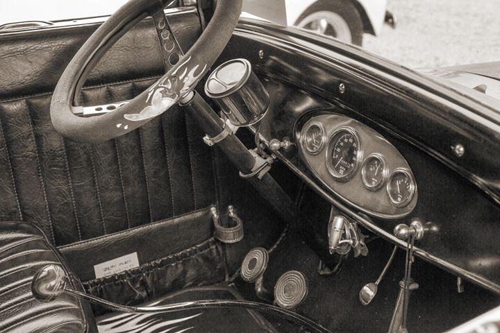 1927 Ford Coupe Car Antique Vintage - M K Miller III