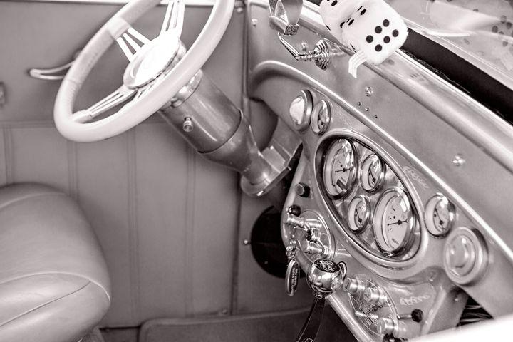 1929 Chevrolet Classic Car Automobil - M K Miller III