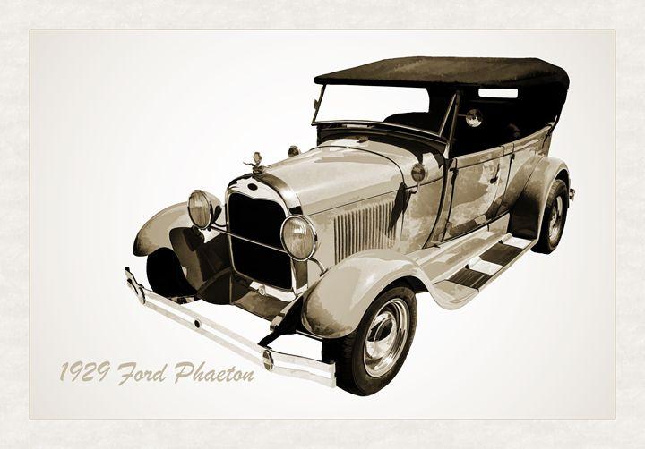 1929 Ford Phaeton Classic Car 3499 - M K Miller III