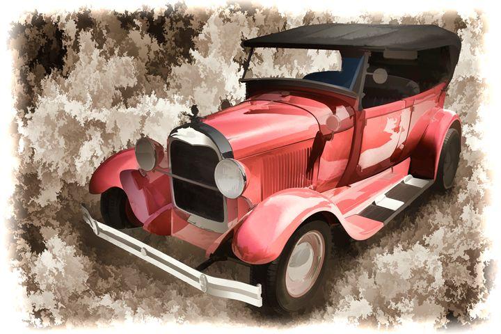 1929 Ford Phaeton Classic Car 3500 - M K Miller III