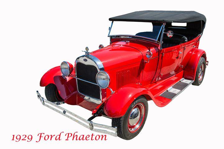 1929 Ford Phaeton Classic Car 3510 - M K Miller III