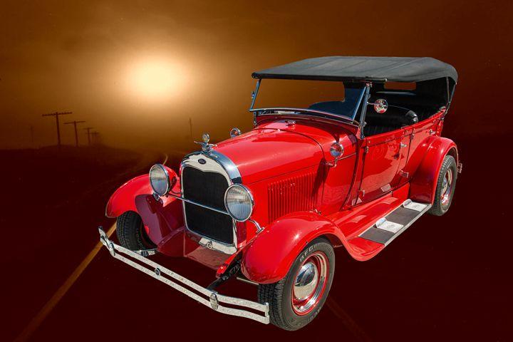 1929 Ford Phaeton Classic Car 3513 - M K Miller III