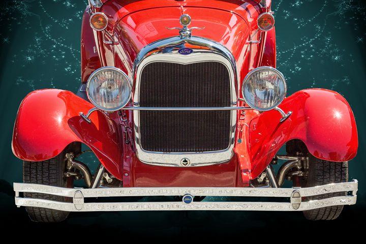 1929 Ford Phaeton Classic Car 3519 - M K Miller III