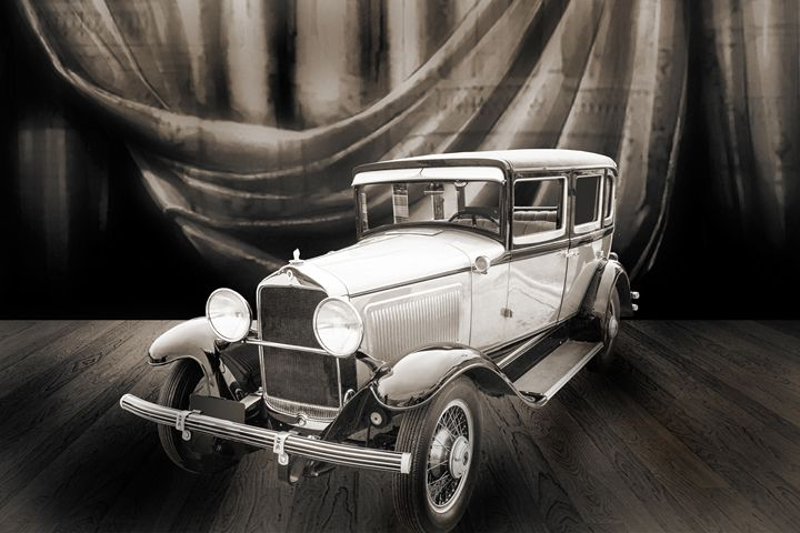 1929 Willys Knight Classic Car 4526 - M K Miller III