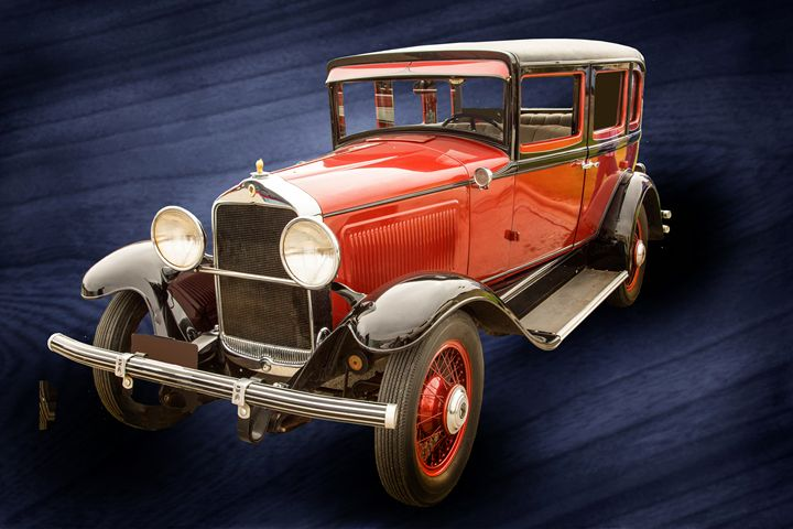 1929 Willys Knight Classic Car 4545 - M K Miller III