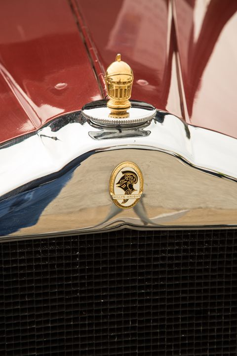 1929 Willys Knight Classic Car 4551 - M K Miller III