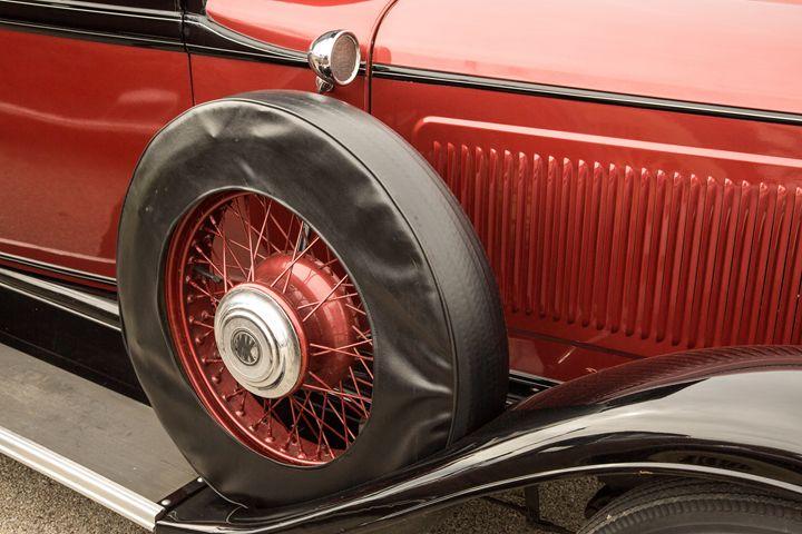 1929 Willys Knight Classic Car 4556 - M K Miller III