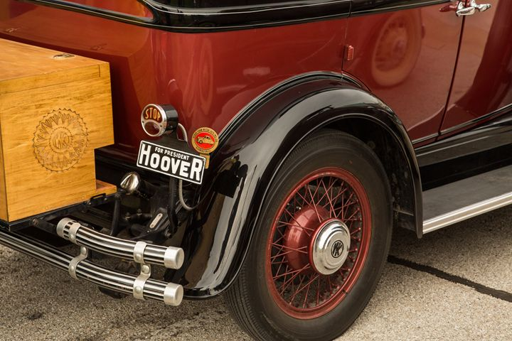 1929 Willys Knight Classic Car 4561 - M K Miller III