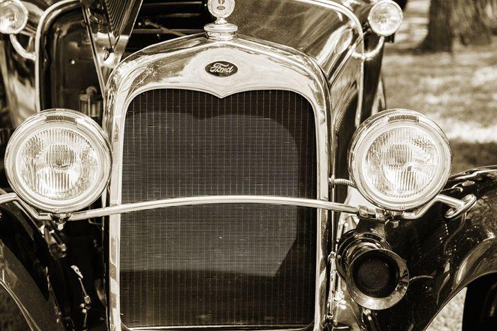 1930 Ford Model A Original Sedan 553 - M K Miller III