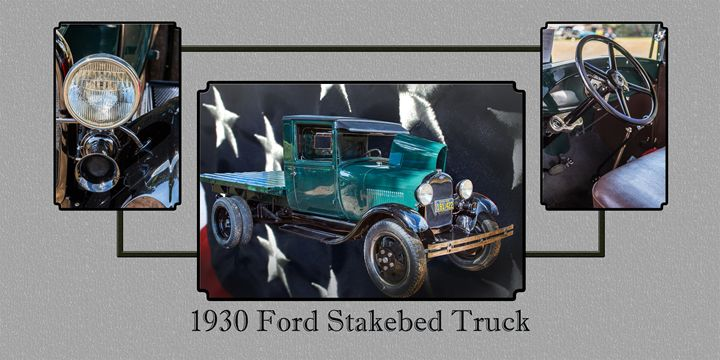 1930 Ford Stakebed Truck 5512.05 - M K Miller III