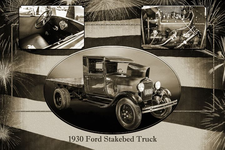 1930 Ford Stakebed Truck 5512.53 - M K Miller III