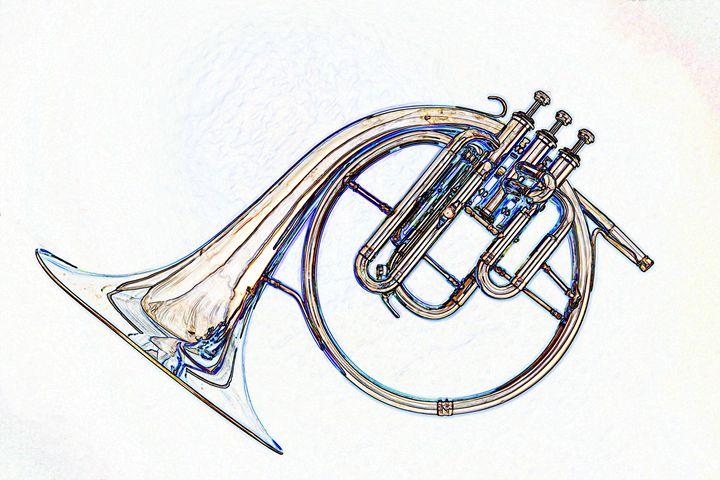 French Horn Music 5560.011 - M K Miller III