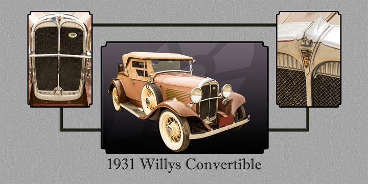 1931 Willys Convertible 1548.004 - M K Miller III