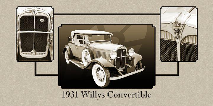 1931 Willys Convertible 1548.005 - M K Miller III