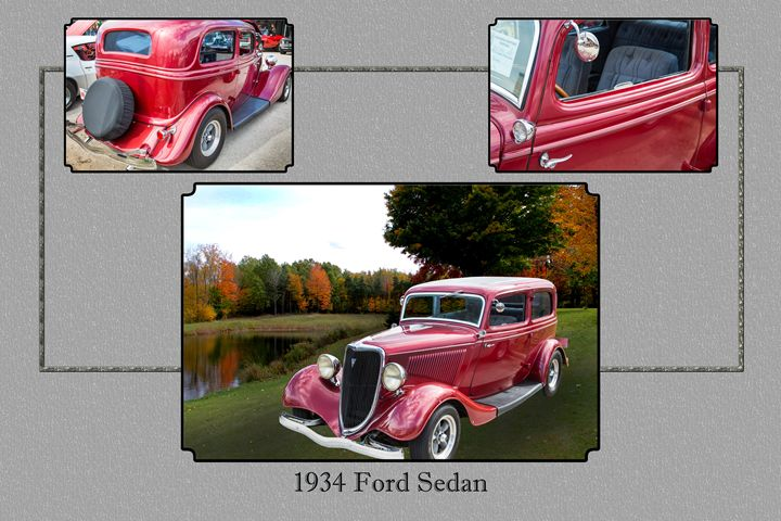 1934 Ford Classic Car 1443.001 - M K Miller III