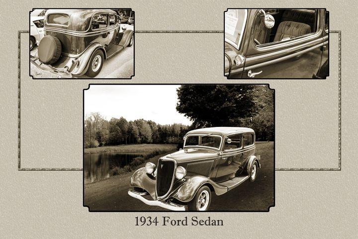 1934 Ford Classic Car 1443.002 - M K Miller III