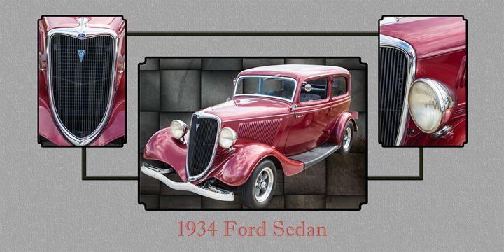 1934 Ford Classic Car 1443.003 - M K Miller III