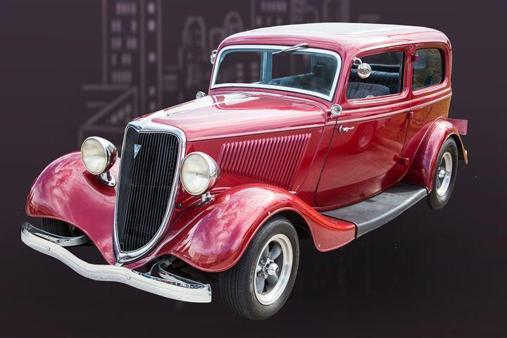 1934 Ford Classic Car 1443.008 - M K Miller III
