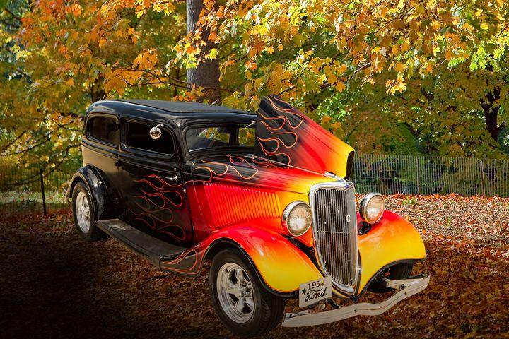 1934 Ford Street Rod Classic Car 554 - M K Miller III