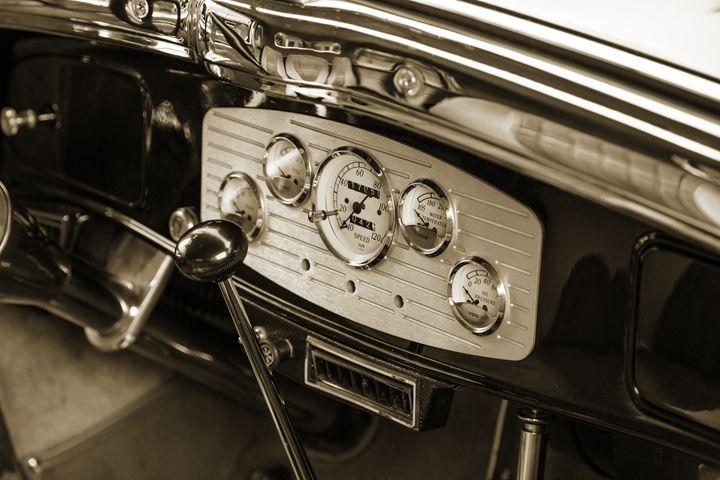 1933 Dodge Classic Car 5565.24 - M K Miller III